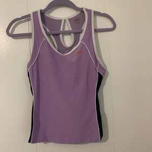 Nike dry fit exercise tank top